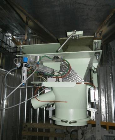 Система дозирования в мешки с зашивкой