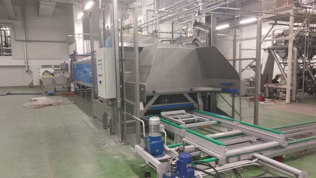 Модернизация вертикальной тестомесильной машины
