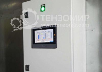 Система контроля уровня и температуры молока в танках 50 м3 и 30 м3 4
