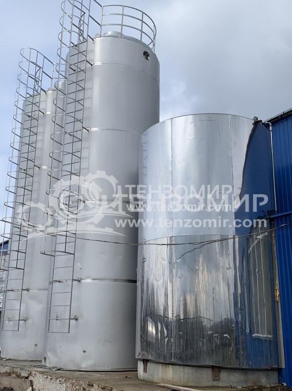 Система контроля уровня наполнения и соблюдения температурного режима хранения молока в танках 50 м3 и 30 м3