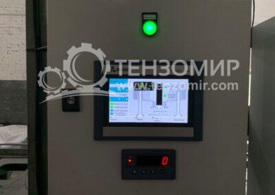 Система управления дозирования графита 3