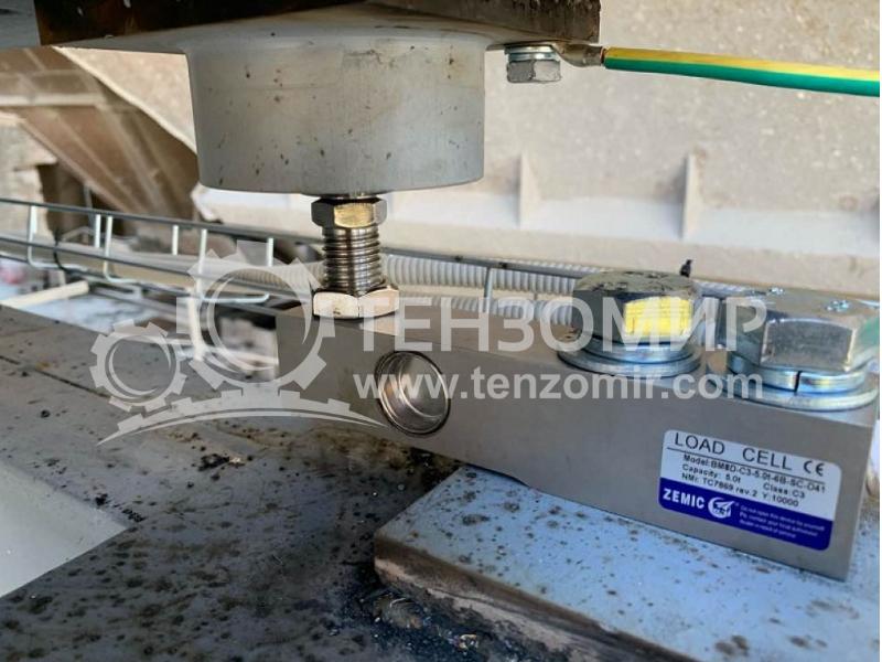 Автоматизована система дозування відсіву (вапнякового каменю)
