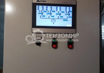 Система управления двух линий бетонно-смесительного комплекса советского образца_5